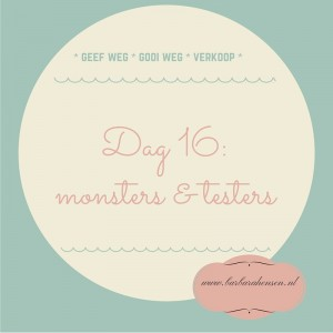 Dag 16_ monsters & testers